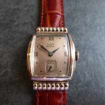 Elgin Rose gold Manual winding Bronze Roman numerals 35mm pre-owned