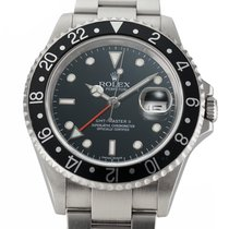 Rolex 16710 Steel 2006 GMT-Master II 40mm pre-owned United States of America, New York, New York