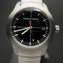 Porsche Design new Quartz Center Seconds Luminescent Hands Screw-Down Crown Luminous indexes 38,5mm Steel Sapphire Glass
