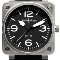 Bell & Ross BR 01-92 Steel 46mm Black United States of America, New York, Brooklyn