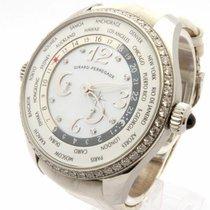 ジラール・ペルゴ (Girard Perregaux) World Time Diamond Bezel Diamond...