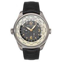 Girard Perregaux Worldwide Time Control 18kt White Gold Black