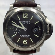 Panerai Luminor Marina Tobacco Dial Titan 44 mm / Papiere