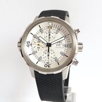 IWC Aquatimer Chronograph Otel 44mm Argint Arabic