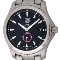TAG Heuer : Link 'Tiger Woods' :  WJ2110.BA0570 :  Stainless...