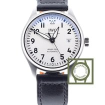 IWC New Model Pilot's Watch Mark XVIII white dial NEW
