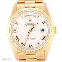 Rolex Day-Date 18238 White Roman Dial E-Series ca. 1991