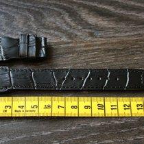 IWC 22mm / 18mm black schwarz leather leder strap Big Pilot