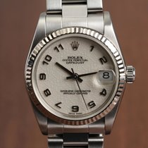 Rolex Datejust Acier 31mm Blanc Arabes