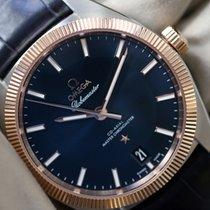 Omega Globemaster Or/Acier 39mm Bleu Sans chiffres France, Thonon les bains