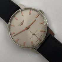 Longines 35.5 Mm Mens Manual Wind Watch Vintage Classic 490...