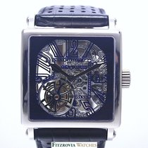 Roger Dubuis Golden Square Skeleton Tourbillon 18KT WG Ltd. Ed 28