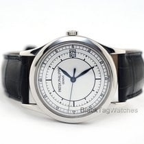 Patek Philippe Calatrava pre-owned 38mm White gold
