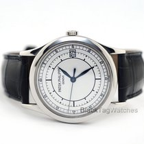 Patek Philippe 38mm Automatic 2005 pre-owned Calatrava Silver