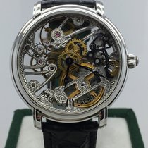 Maurice Lacroix 43mm Manual winding pre-owned Masterpiece Squelette Transparent
