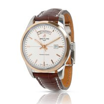 Breitling Transocean Day & Date Gold/Steel 43mm Silver United States of America, New York, New York