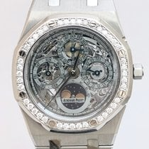 Audemars Piguet Royal Oak Perpetual Calendar Acero 39mm Transparente