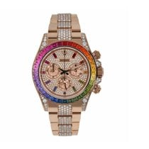 Rolex 116595RBOW Or rose 2019 Daytona 40mm nouveau
