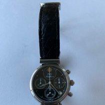 IWC Da Vinci Chronograph Aço 29mm Preto Árabes