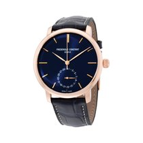 Frederique Constant Manufacture Slimline Goud/Staal 42mm Blauw