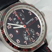 Eberhard & Co. Tazio Nuvolari Steel 43mm Black Arabic numerals
