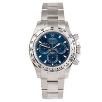 Rolex Daytona White gold 40mm Blue No numerals United States of America, New York, New York