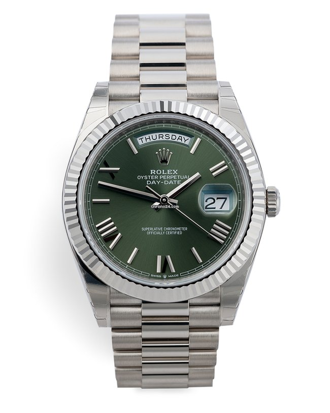Rolex 228239 Day Date 40 Anniversary 18ct White Gold