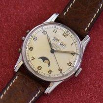 Angelus Acier 34mm Remontage manuel Angelus Datolux occasion France, Paris