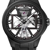 Ulysse Nardin Titanium 42mm Manual winding 3713-260-3/BLACK new