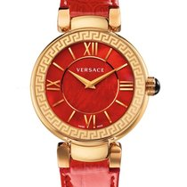 Versace Yellow gold Quartz 36mm new