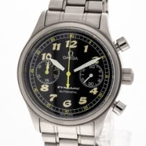 Omega Dynamic Chronograph Steel 38mm Black Arabic numerals