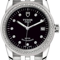 Tudor Glamour Date Steel 36mm Black United States of America, New York, Airmont