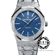 Audemars Piguet Royal Oak 15410BC.GG.1224BC.01 New White gold 41mm Automatic