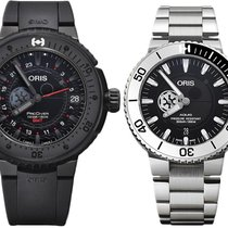 Oris ProDiver GMT 49mm Preto