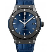 Hublot Classic Fusion Blue 581.CM.7170.LR Unworn Ceramic 33mm Quartz