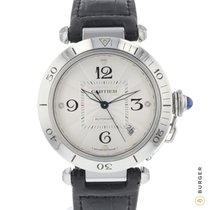 Cartier Pasha 2378 Very good Steel 38mm Automatic