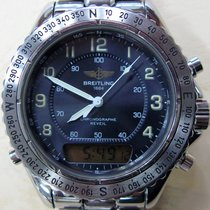 Breitling Aeromarine Steel 42mm Black