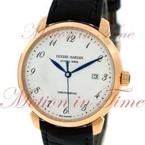 Ulysse Nardin Classico Rose gold 40mm White Arabic numerals United States of America, New York, New York