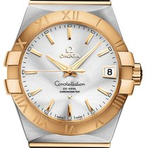 Omega Constellation Men Gold/Steel 38mm Silver United States of America, New York, Airmont