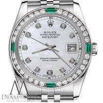 Rolex Lady-Datejust Staal 31mm Parelmoer Geen cijfers