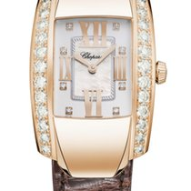Chopard La Strada 18K Rose Gold & Diamonds Ladies Watch