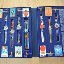 Swatch Olympic Atlanta 1996 Limited Edition Box 9 pieces