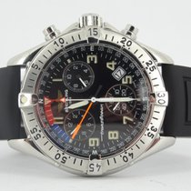 Breitling Transocean Chronograph (new rubber breitling strap)