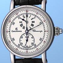"Chronoswiss ""Chronoscope"" Chronograph Strapwatch."