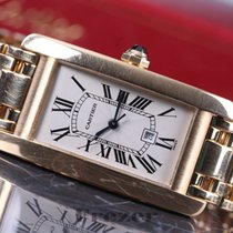 Cartier Tank Americaine 1725 Gold