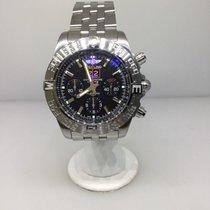 Breitling Chronomat Blackbird Men's Watch A4436010/bb71-ss Nib...
