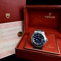 Tudor 76100 Submariner Blue Dial w/Original Paper & Box