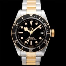 Tudor Heritage Black Bay S&G Black Steel/Yellow Gold 41mm -...