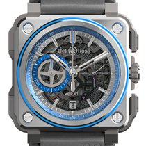 Bell & Ross Aluminiu Atomat Transparent 45mm nou BR-X1