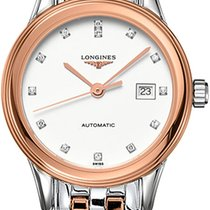 Longines Flagship Gold/Steel 30mm White